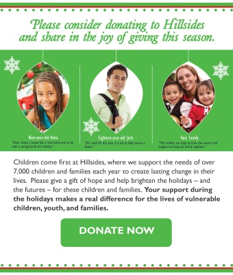 Helping children, youth, and families this holiday season