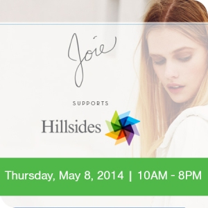 Joie Pasadena shop for a cause