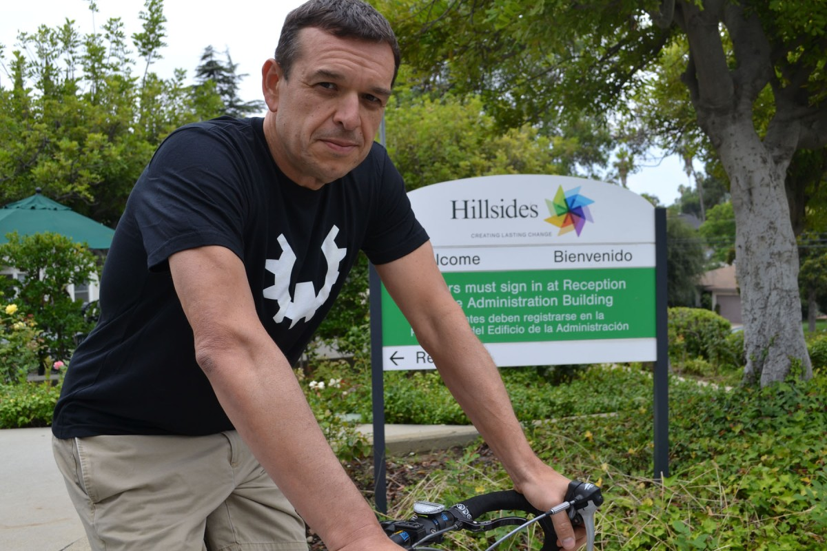 Caption: Hillsides employee, Rob DaSilva wears WOD Gear Clothing t-shirt, a functional athletic apparel company that has selected Hillsides as its beneficiary of this years Team Series Competition. Learn more about this event.