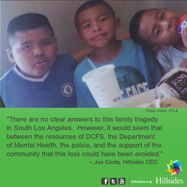 brothers, Los Angeles, stabbing, foster care, DCFS, children, families, depression