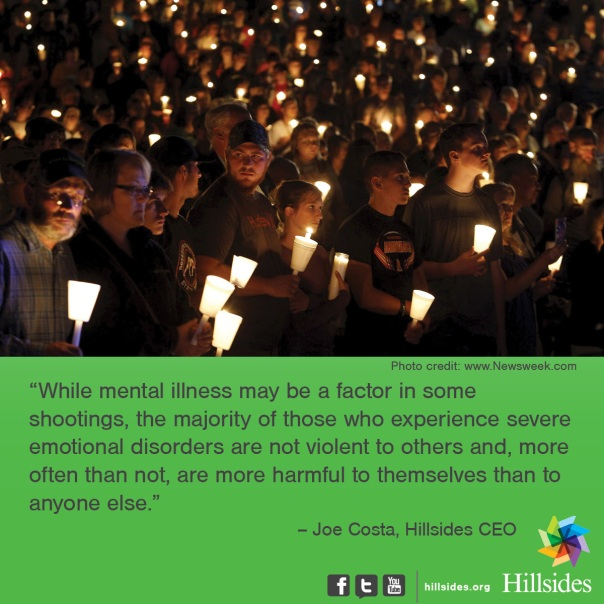 quote from Joe Costa on how mental illness is not to blame for the Oregon shooting