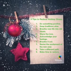 9 tips to reduce holiday stress