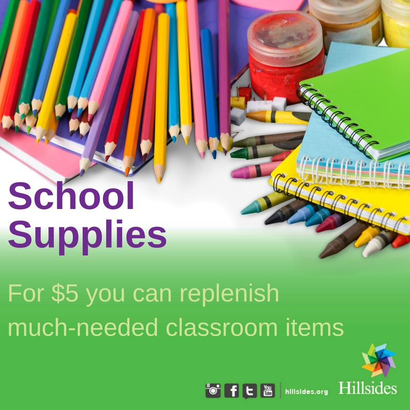 school supplies for children in foster care