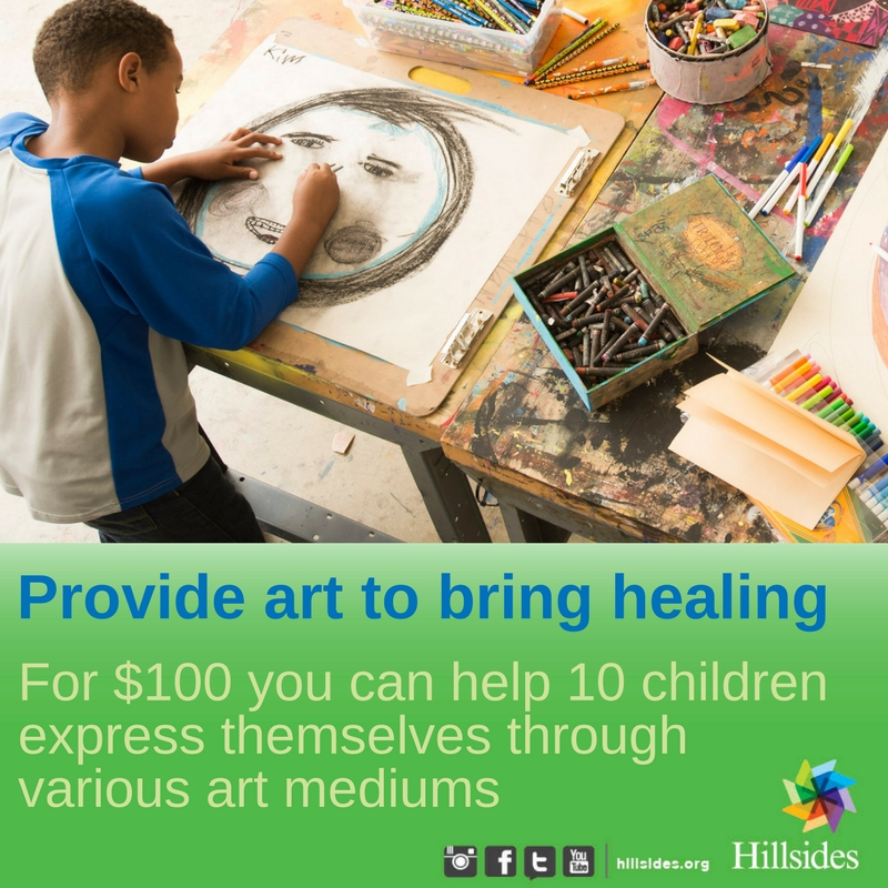 expressive art enrichment for children and youth