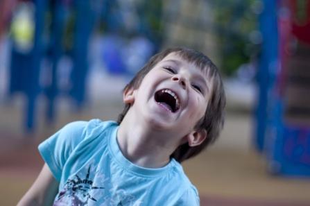 Canva - Child, Laughter, Happy, Playground